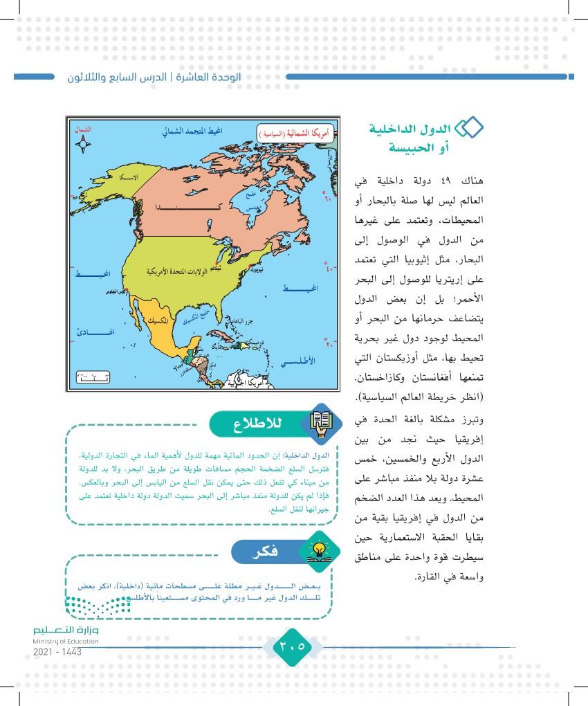 الدرس السابع والثلاثون: الحدود الحضارية وأنواعها