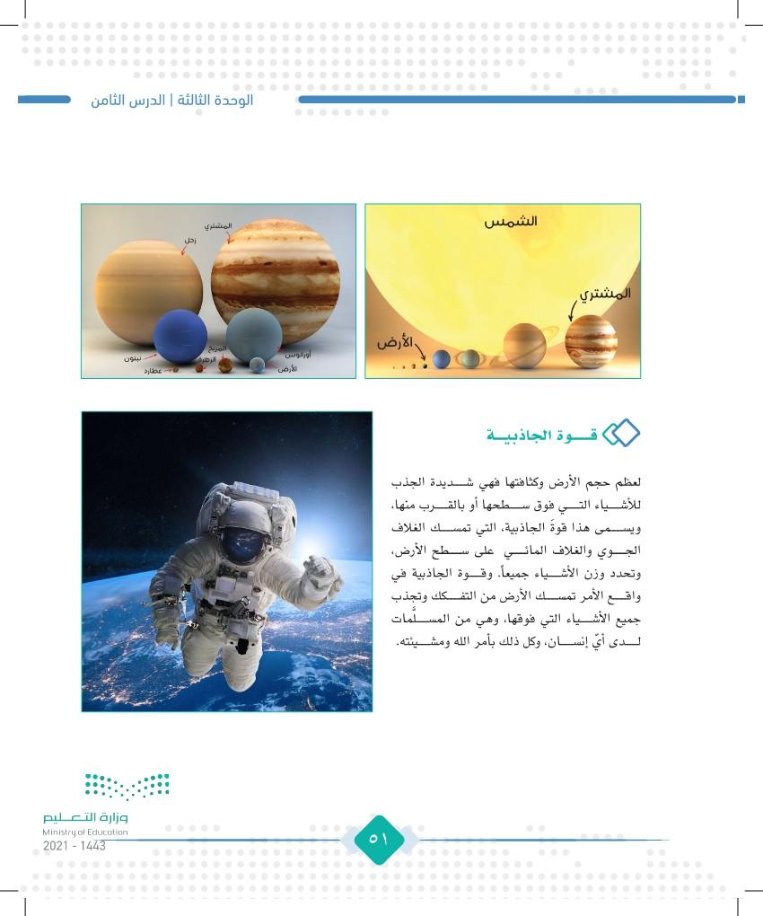 الدرس الثامن: شكل كوكب الأرض